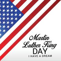 Vector illustration of a Background for Martin Luther King Day