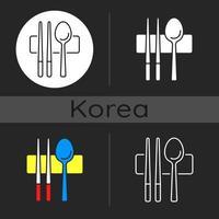 Sujeo dark theme icon vector