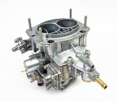 The carburetor of the internal combustion engine photo