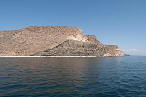 Archipielago Isla Espiritu Santo in La Paz, Baja California photo