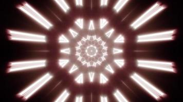 lumière chaude de la lampe s'étalant sur fond 4k video