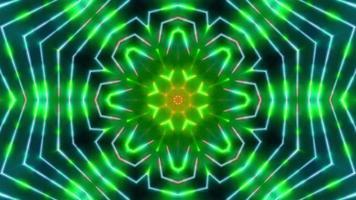Colorful Psychedelic Kaleidoscope Loop 4K video