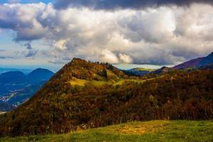 paisaje de otoño cero foto