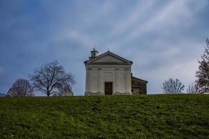 church with sky photo
