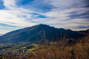 Monte Summano in autumn photo