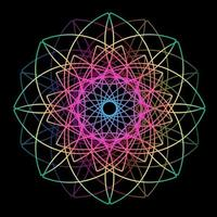 Graphic of geometric stars shape design vector