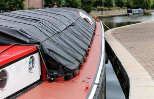 Canal Barge Roof photo