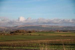 open farm fields photo