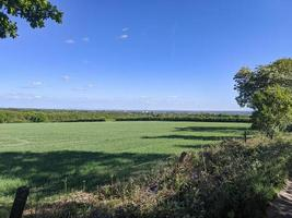 open countryside and fields photo