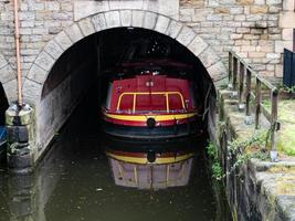 barge in tunnel photo