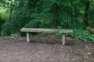 A narrow bench photo