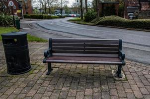 A Wooden Bench photo