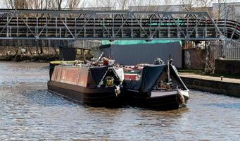 Two Barges Sailing photo