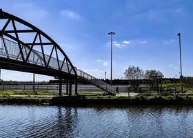 canal and bridge photo