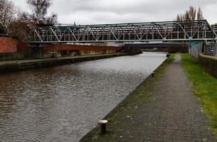 Narrow Aluminium Bridge photo