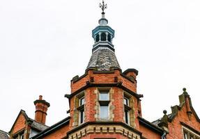 red brick tower photo