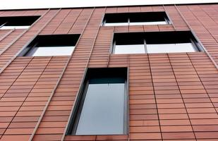 Red Cladding and Windows photo