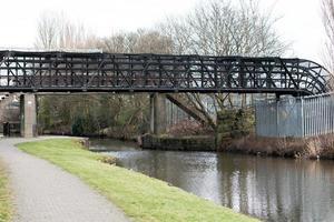 Metal Pipe Bridge photo