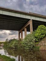 high motorway bridge photo