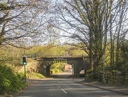 low railway bridge photo