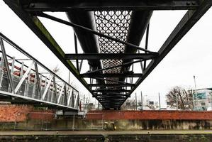 Overhead Metal Bridge photo