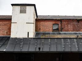 old warehouse roofline photo