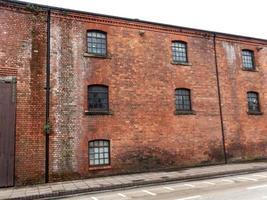 red brick warehouse photo