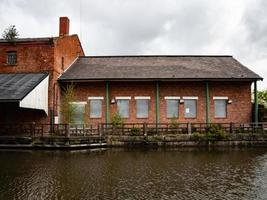 canal side warehouse photo