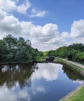 the canal in summer photo
