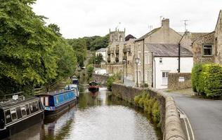 Canal in Skipton photo