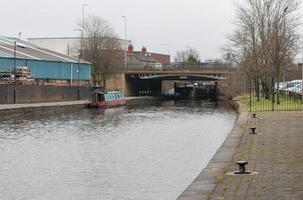 Industrial Buildings and Canal photo