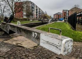 Lock Gate Beam and White End photo