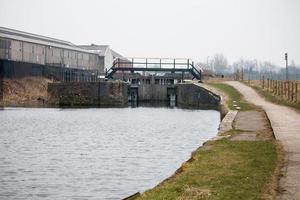 The Canal Lock and Bridge photo