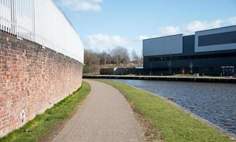 Towpath and Industrial Units photo