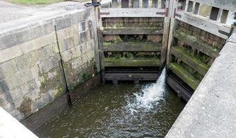 Lock Gates and Running Water photo