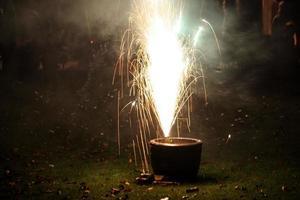 Fireworks and Smoke photo