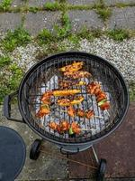bbq looking down photo