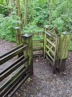 a wooden gate photo