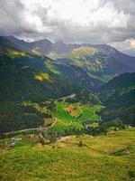 Passo Rombo between Italy and Austria photo