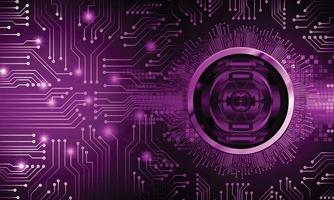 Digital background cyber security background vector
