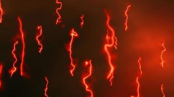teoría de cuerdas física cuántica concepto de animación 3d video
