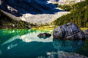 Sorapis Lake view photo
