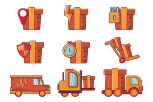 Logistic and Delivery illustration Collection vector