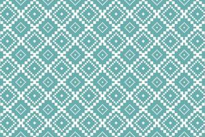 Nordic geometric oriental seamless pattern rug design with pastel color vector