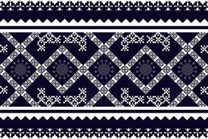 Geometric ethnic oriental seamless pattern traditional design for background vector