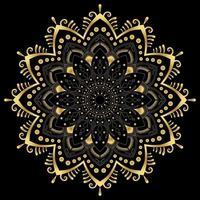 floral mandala design templates vector