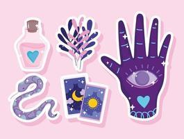 magic astrology mystical vector
