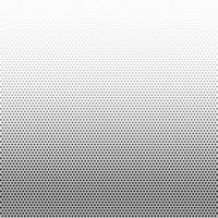 Halftone linear gradient vector pattern with black dots design element square raster texture on white background