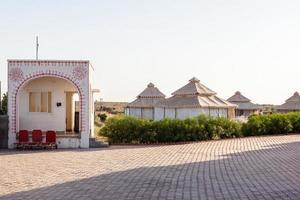Desert Near Jaisalmer Rajasthan India photo