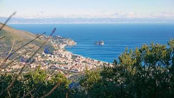 Ligurian coast with a view of Varigotti photo
